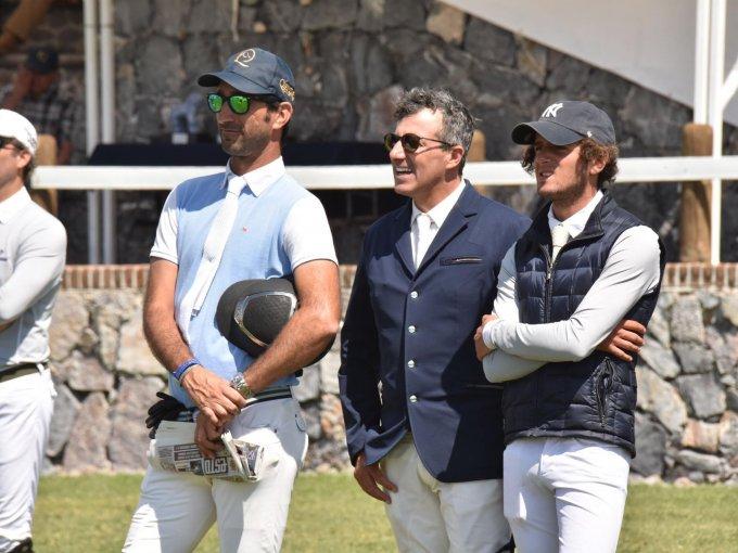 Juan Manuel Luzardo, Jeferson Martins y Simón Salame
