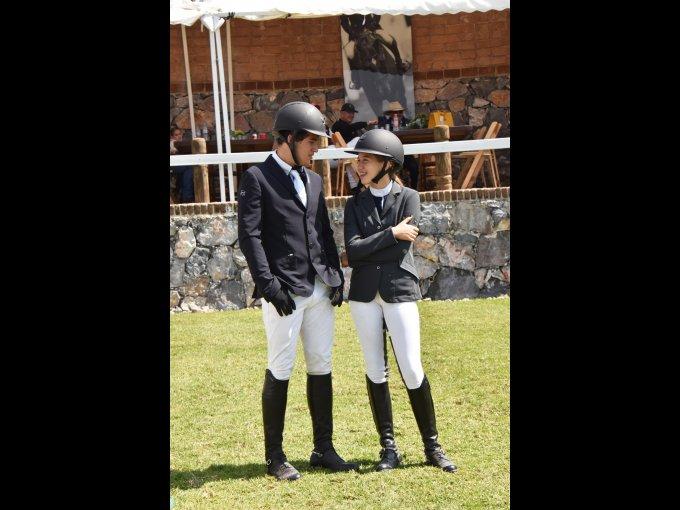 Salvador López y Ana Sofía Legorreta
