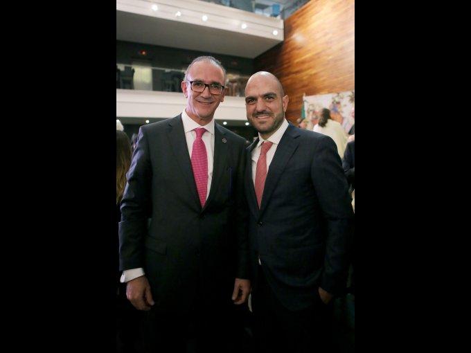 Carlos Dersdepanian y Daniel Karam
