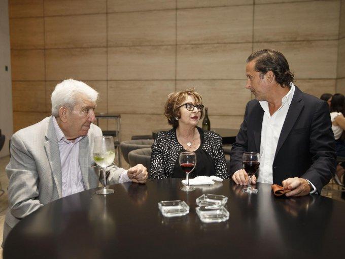 Marcos Micha, Vicky Micha y Moisés Micha