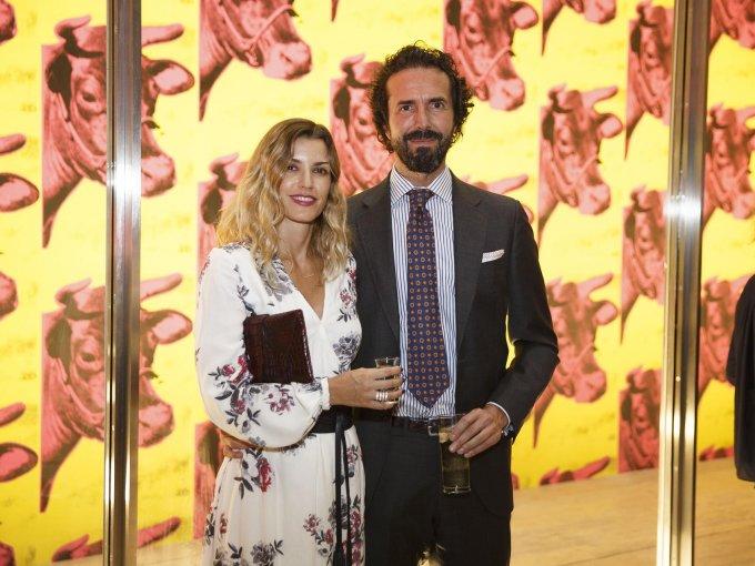 Nicole Guillén y Serapión Fernández
