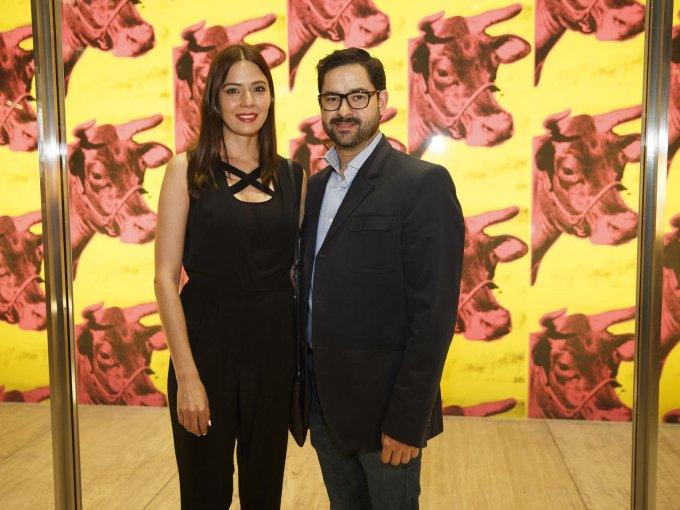 Claudia Collado y Juan Cristóbal Salinas