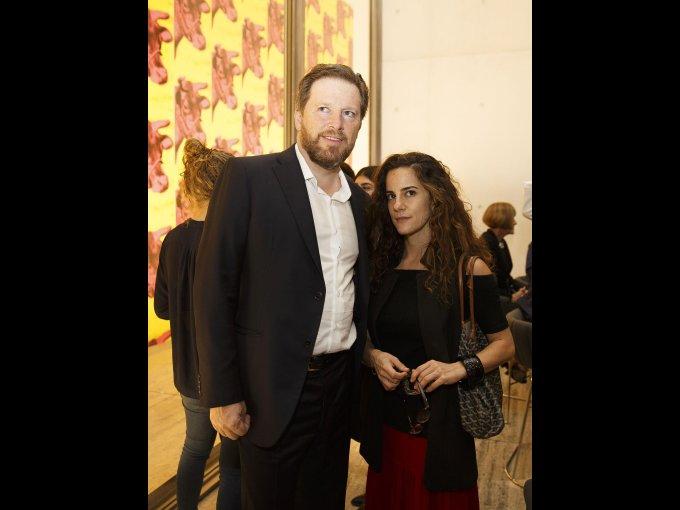 Damián Fraser y Francesca Ronci