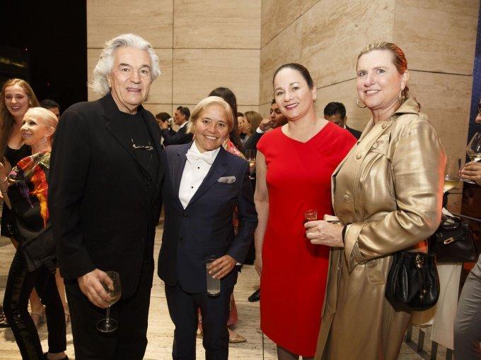 Jeanette Longoria, Patricia Ruiz Healy y Cina Furgason