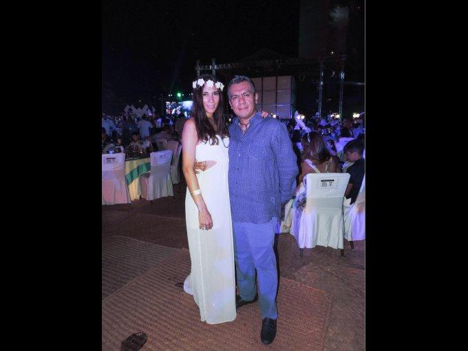 Karla Martínez y César Ali