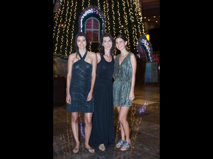 Tania León, Vanesa León y Lorenza León
