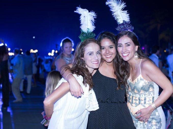 Lourdes Lara, Valeria Ramírez y Ana Ortiz