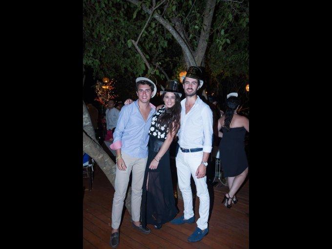 Mauricio Morales, Daniela Morales y Rodrigo Morales