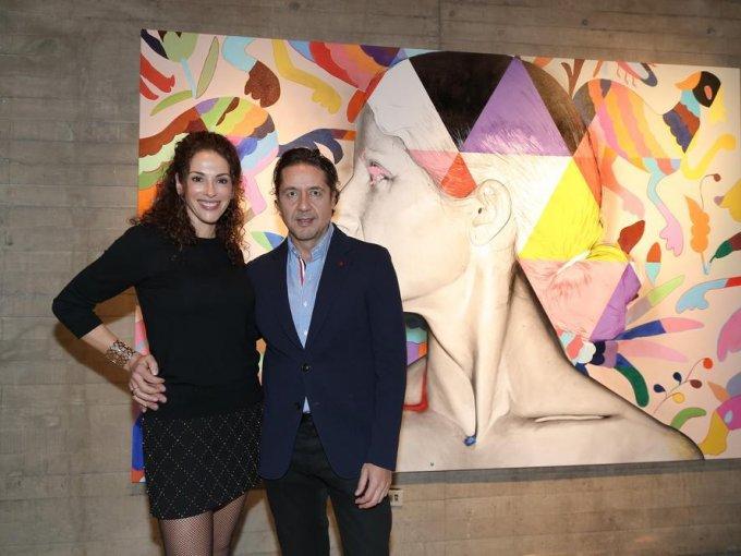 Carolina Meléndez y Ricardo Reyes