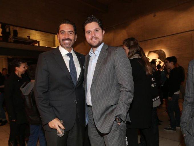 Roberto García y Guillermo Barradas