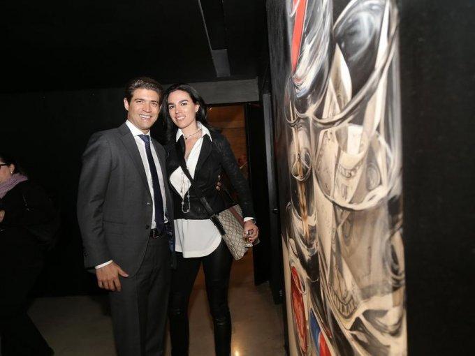 Ricardo Fernández y Marlene Roque