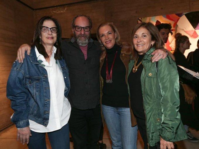 Teresa Suárez, Javier Carral, Sofía Corcuera y Casilda Aguirre