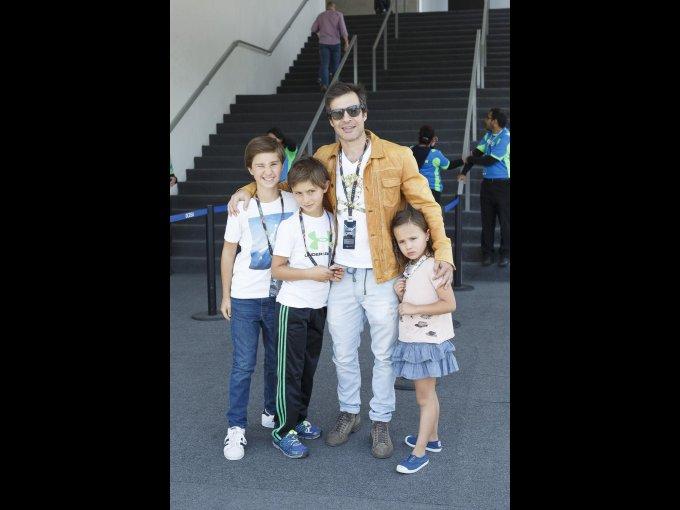 Bosco Fox, Patricio Fox, Miguel Ángel Fox y Aleka Fox