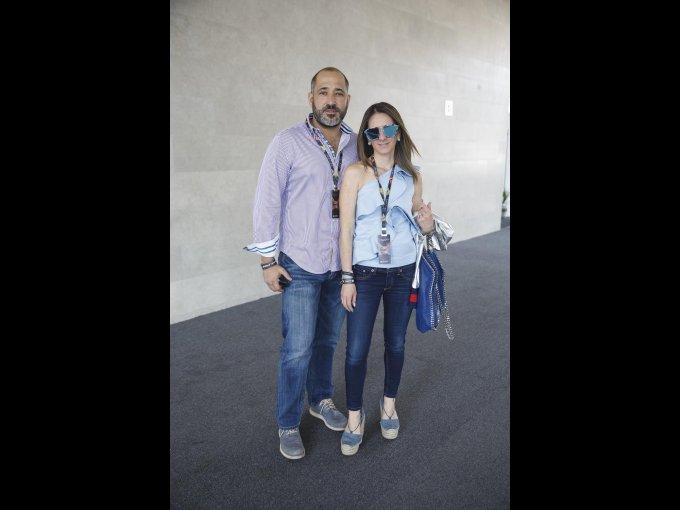 Fernando Senosiain y Sué Lomelín