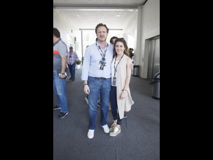 Juan Ignacio y Carmen Casanueva