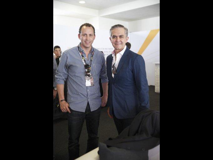 Horacio de la Vega y Miguel Ángel Mancera