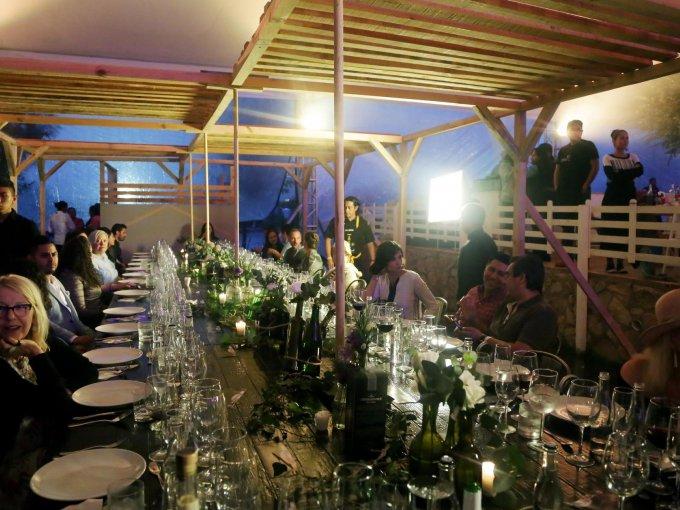 Las Mesas del Chef fueron pensadas para un promedio de 100 personas