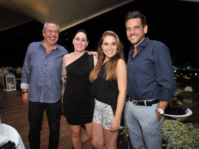 Manuel Domínguez, Fernanda Martínez, Christiane Michel y Carlos Gorbea