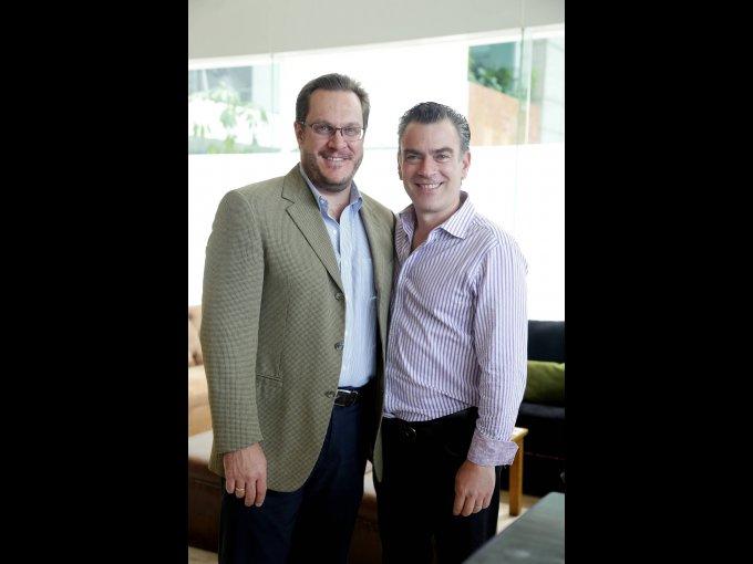 Jon Merodio y Alejandro González