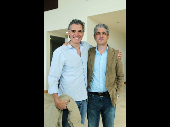 Rodrigo Testas y Gabriel López