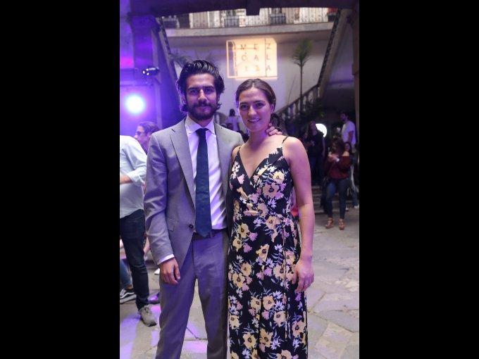 Fernando Flores y Sofía Rosette