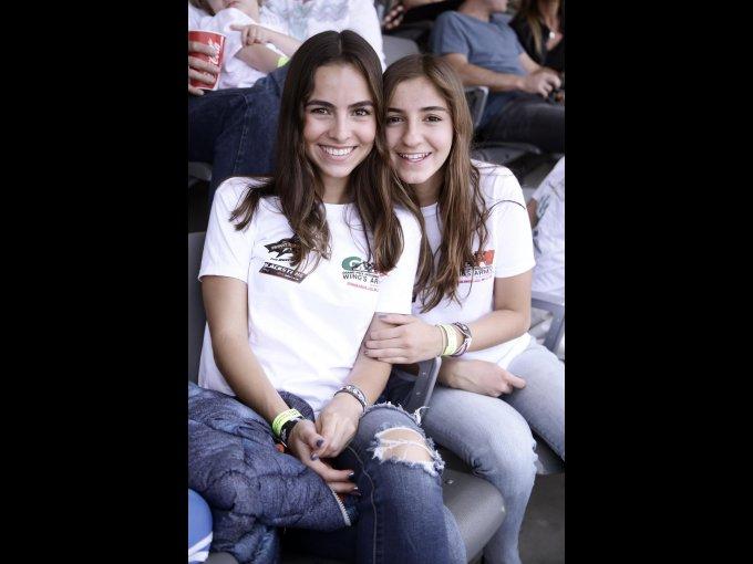 Regina y Andrea Ocampo