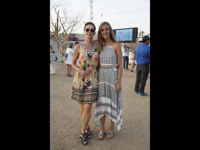 Ana Aragonés y Fernanda Kurth