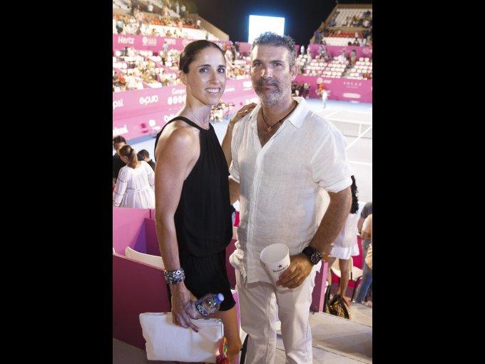 Paulina Lebrija y Eduardo Sánchez Navarro