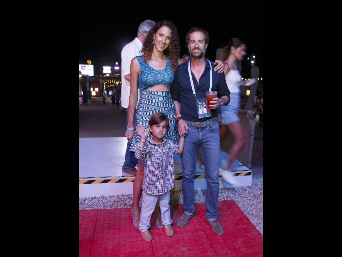 Karla, Javier y Andrés Braun