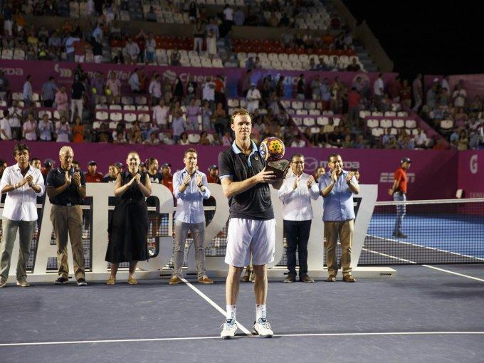 Sam Querrey ganó por segunda ocasión un torneo en México