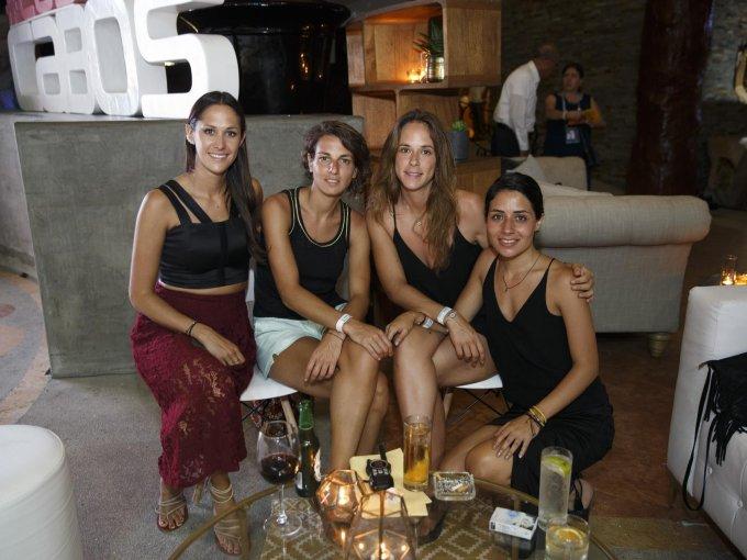 Sofía Álvarez, Débora Magni, Emilia Shelly e Isabella Demichelis