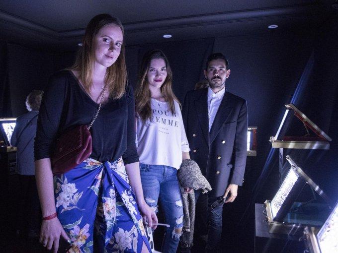 Georgia Arosamena, Liliana Maza y Hernán del Castillo