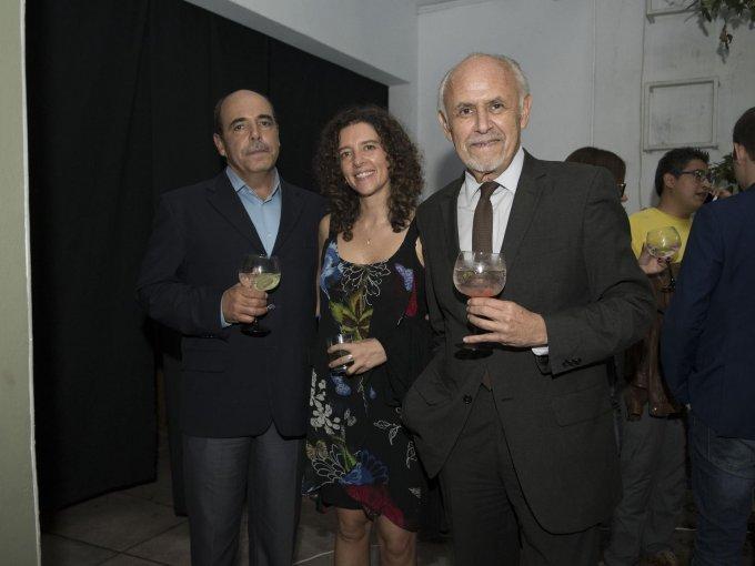 Polo Tommasi, Fernanda Sordo y Luis García