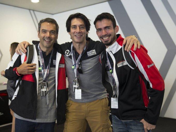 Eduardo Melo, Raúl Civiello y Antonio Roquer