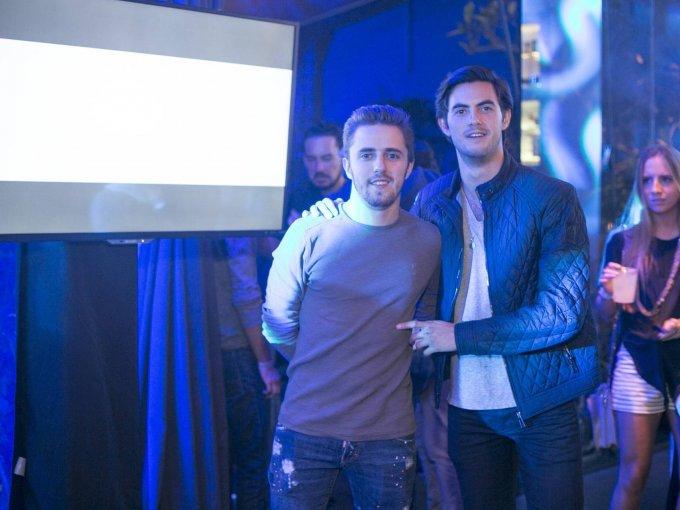 Jorge de la Mora y Alejandro Uribe