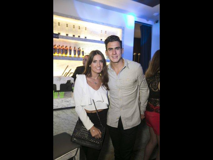 Lucía Igartua y Gonzalo Rivera