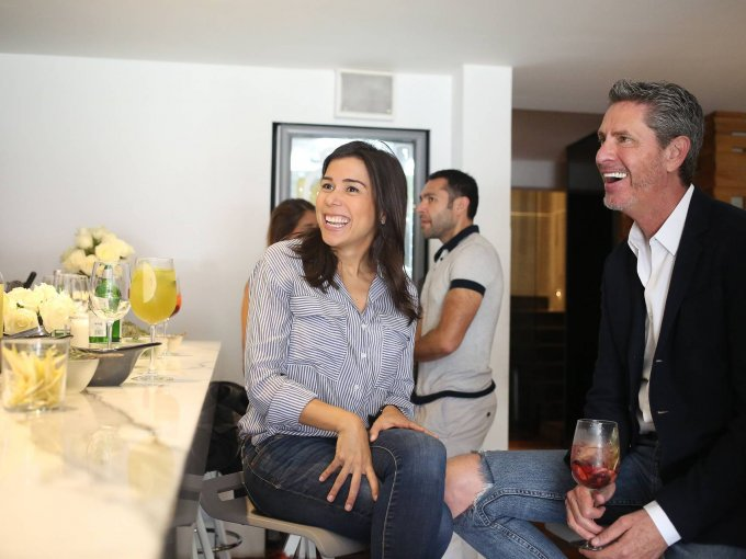 Karen Nichols y Miguel Ortiz Monasterio
