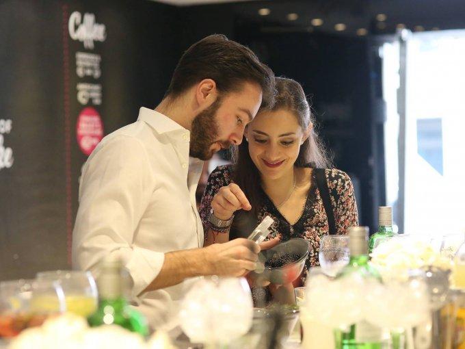 Ramón Domínguez y Macarena Gulias