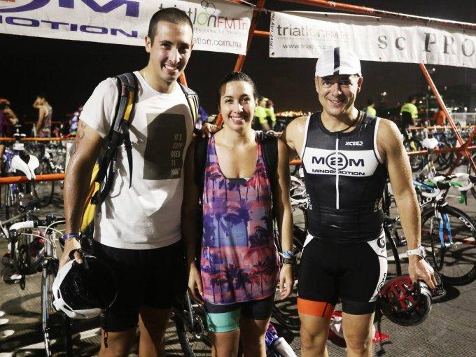 Eric Rueda, Fernanda Paz y Juan Pablo Ríos
