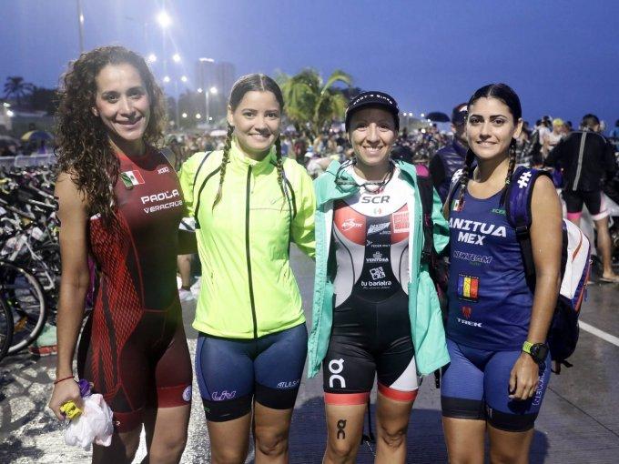 Paola Sánchez, Irune Anitua, Alma Cárdenas y Marimar Anitua