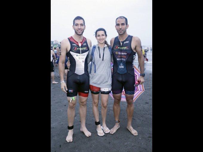 Héctor Alanís, Olivia Maitret y Andrés Ribera