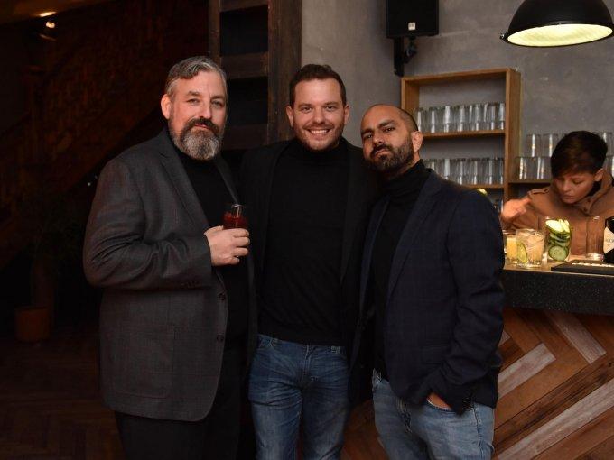 Craig Judkins, Iñaki Sierra y David Maza
