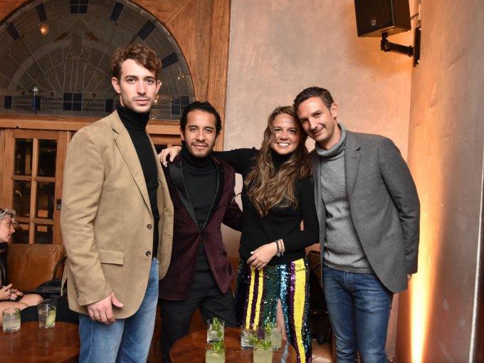 Óscar Ardid, Rodrigo Blas, Marisol Cabrera y Santiago Porrero