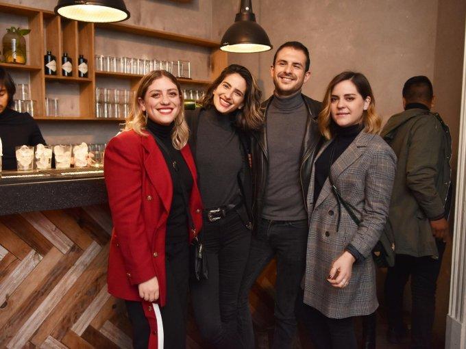 Mariana Gerdes, Steph Spitzer, Arturo Lavalle y Alejandra Gerdes