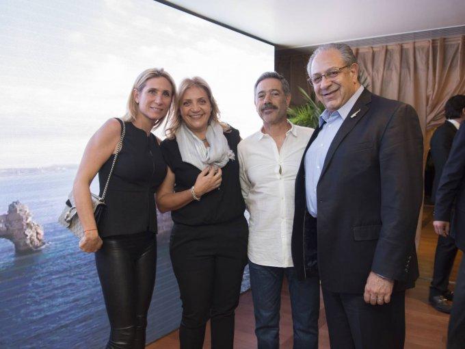 Vivian Kalach, Miriam Mussali, Rafael Elías y Emilio Mussali