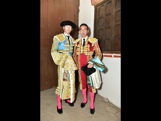Octavio García y Enrique Ponce
