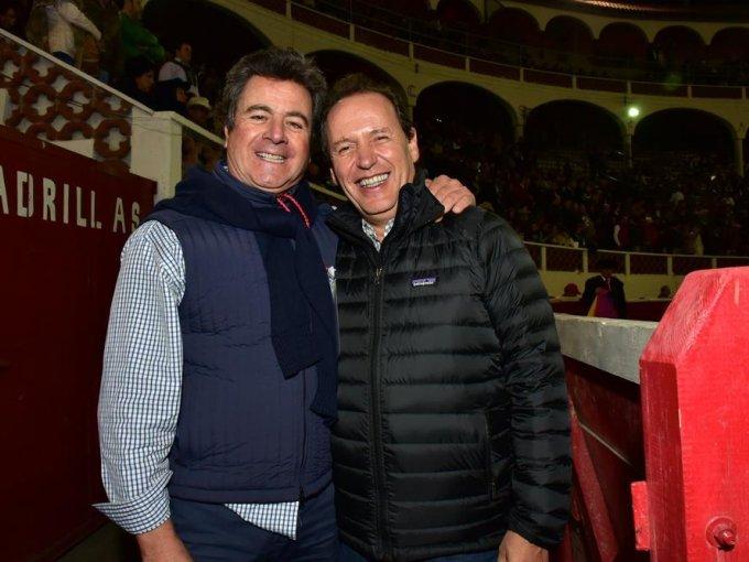 Raúl Saviñón y Pedro Vaca