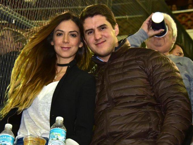Lucía Beltrán y Daniel Villanueva