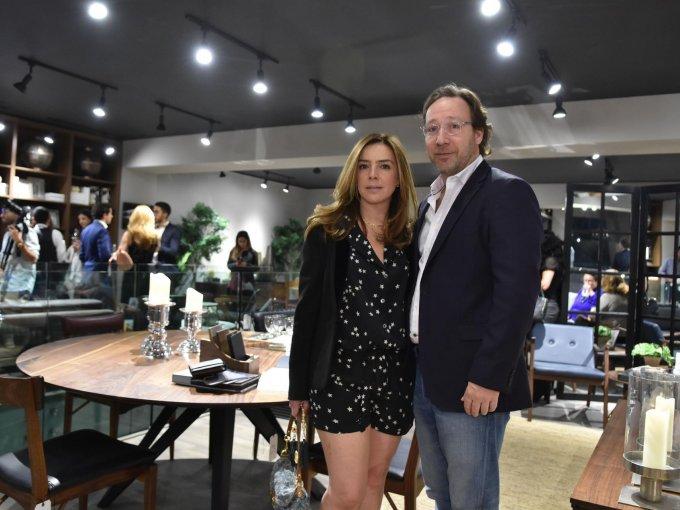 Julia Salcido y Eduardo Baños