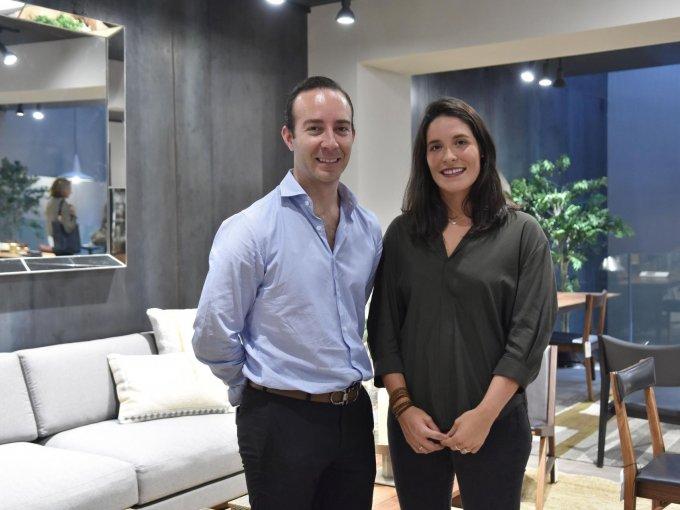 Raymond Chaine y Cora Fierro